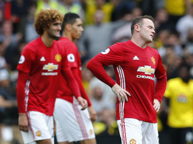 Manchester United captain Wayne Rooney. Reuters