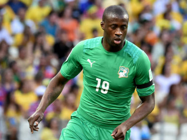 Yaya Toure helped Ivory Coast win the 2015 Africa Cup of Nations. AFP