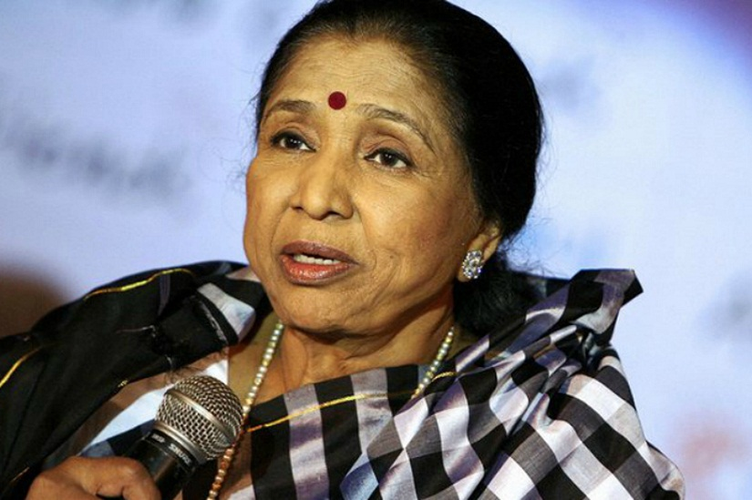 Asha Bhosle. Image from News18