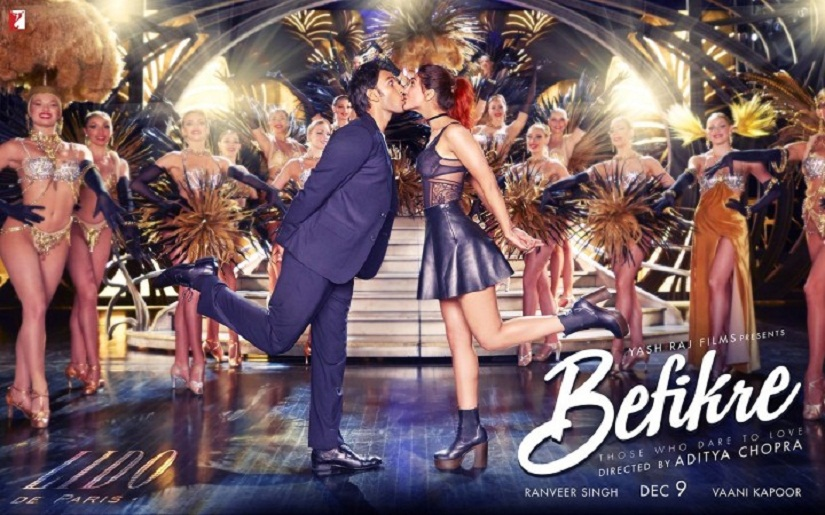 Ranveer Singh and Vaani Kapoor in 'Befikre'