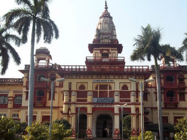 File image of Banaras Hindu University campus. bhuonline.in