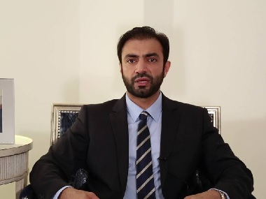File image of exiled Baloch leader Brahumdagh Bugti. YouTube
