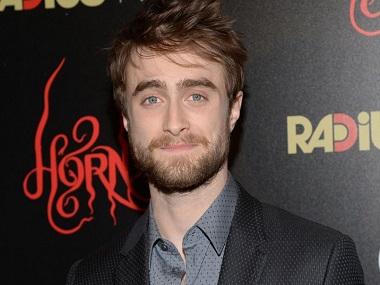 Daniel Radcliffe. AP photo