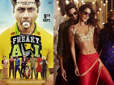 Freaky Ali (L); Baar Baar Dekho both saw a drop in their collections over Sunday, 11 September