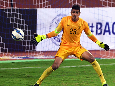 File picture of Gurpreet Singh Sandhu. Getty Images