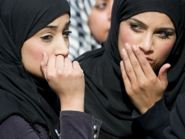 More Muslim women, across social classes, are donning the hijab and burqa. File photo