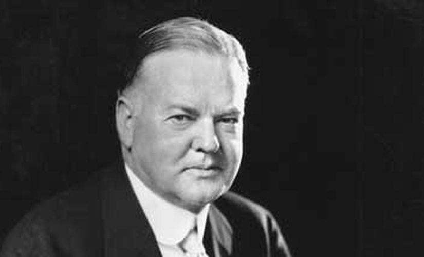 President Herbert Hoover in an undated photograph courtesy of the Library of Congress. REUTERS/Library of Congress/Handout - RTR2WKIC