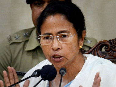 File image of West Bengal chief minister Mamata Banerjee. PTI