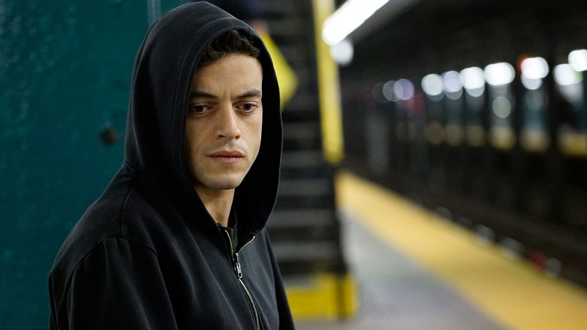 Will Rami Malek get the Best Actor in a Drama series prize for Mr Robot?