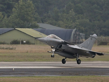 File image of a Rafale aircraft. Reuters