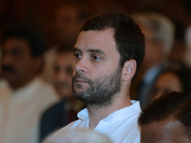 File image of Congress vice-president Rahul Gandhi. AFP