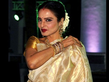 Rekha. Image from News 18