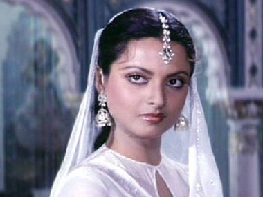 Rekha's transformation from 'ugly duckling' to swan is chronicled in this biography