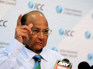 File photo of Sharad Pawar. AFP