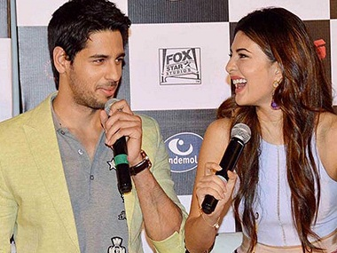 Sidharth Malhotra and Jacqueline Fernandez star in 'Reloaded'. Image from YouTube