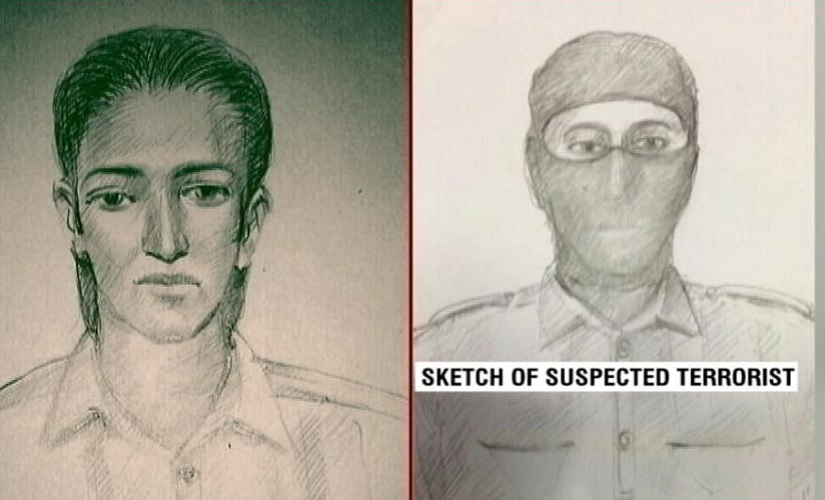 Sketches of the suspects seen in Uran, released by the Navi Mumbai Police. Image courtesy: News18