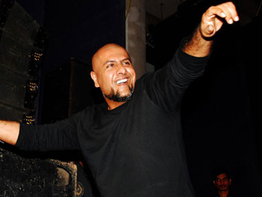 Vishal Dadlani. File photo/AFP