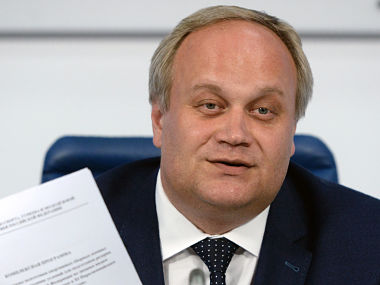 File photo of Russia's deputy sports minister Yury Nagornykh. AFP