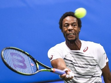 File photo of France's Gael Monfils. AFP