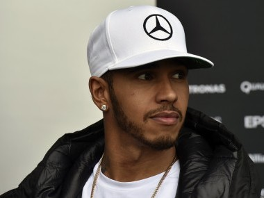 Lewis Hamilton ahead of the Formula One Grand Prix of Mexico. AFP