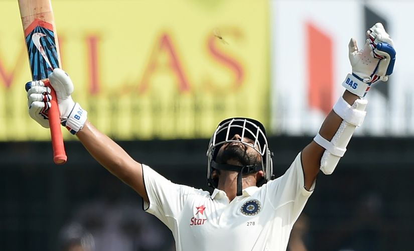Ajinkya Rahane is the lynchpin that holds the top and bottom of the batting line-up together. AFP
