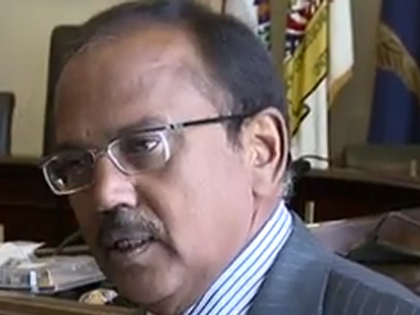 India's National Security Advisor Ajit Doval. Youtube screengrab