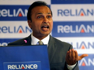 Anil Ambani, chairman of the Reliance Anil Dhirubhai Ambani Group. Reuters