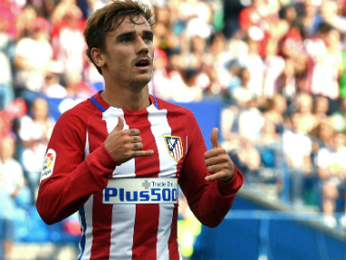 File image of Antoine Griezmann. AFP
