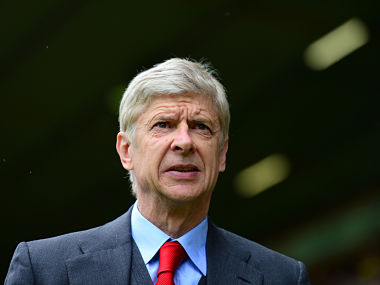 Arsene Wenger manager of Arsenal. Getty