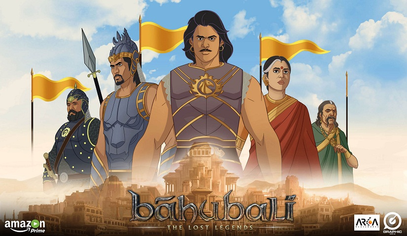 Still from the new 'Baahubali' animated series