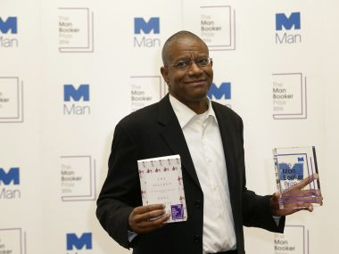 Paul Beatty, winner of the 2016 Man Booker Prize. AP