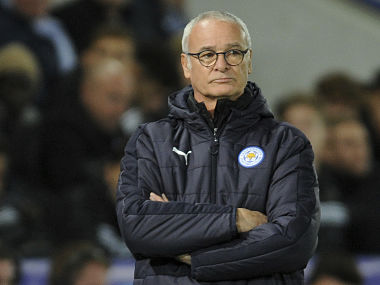 File photo of Leicester City manager Claudio Ranieri. AP