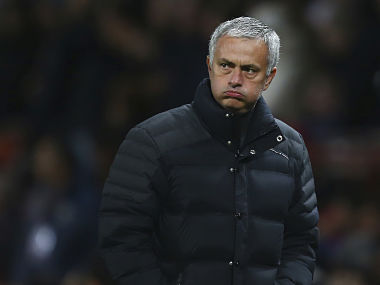 File photo of Manchester United manager Jose Mourinho. AP