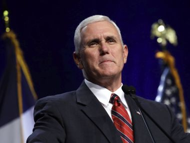 File image of US Vice President Mike Pence. AP