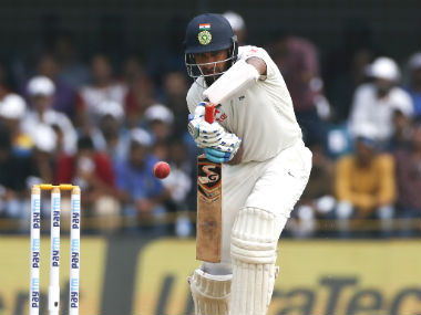 File picture of Cheteshwar Pujara, one of the pillars of the Indian batting order. AP