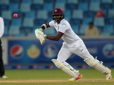 Darren Bravo against Pakistan during his 402-minute stay at the crease. AFP