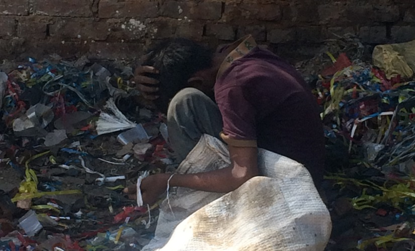 Drugs are mostly taken in garbage dumps with used needles. Firstpost/