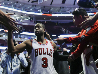 Dwayne Wade put in a stellar performance in his hometown. AFP