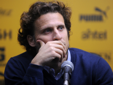 File image of Diego Forlan. AFP
