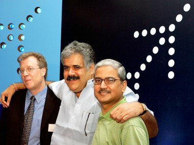 Rakesh Gangwal (extreme left)  Reuters