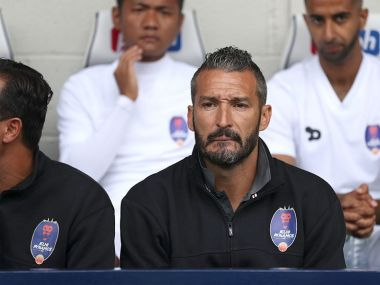 Delhi Dynamos manager Gianlucca Zambrotta. CNN News18
