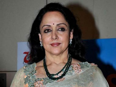 Hema Malini. File photo/AFP