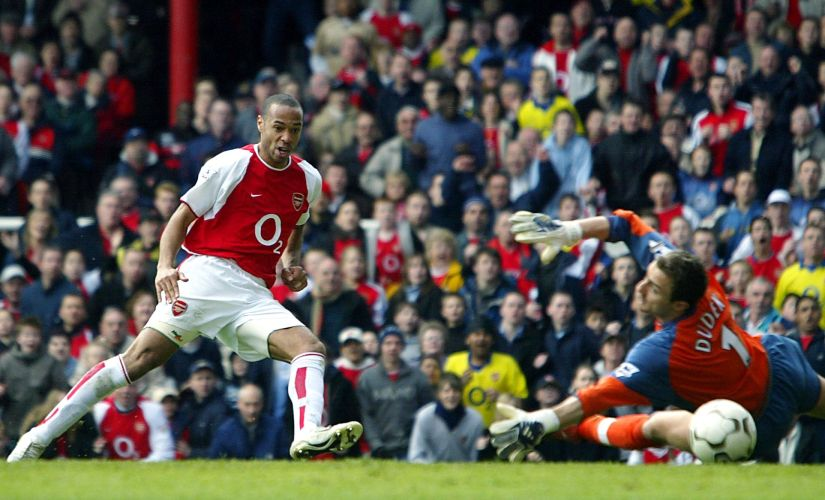 Earlier people passed to wingers to cross for the strikers, but now they pass to strikers who pass to wingers to score: Thierry Henry. AFP