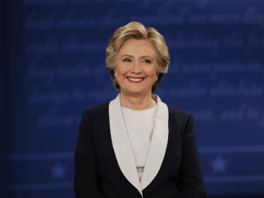 Hillary Clinton looking strong / Reuters