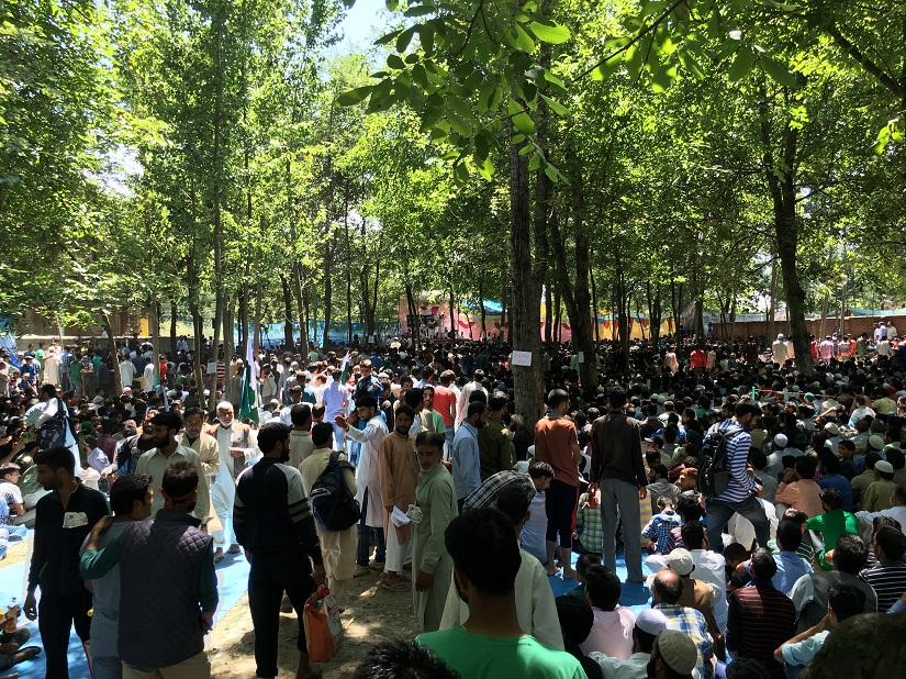 Public rally at Yaaripora, Kulgam