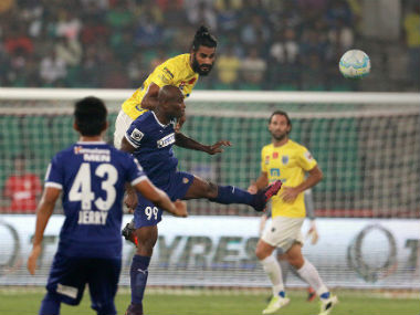 Both teams barely made any progress in the points table after the goal-less draw. Image courtesy: ISL via Twitter