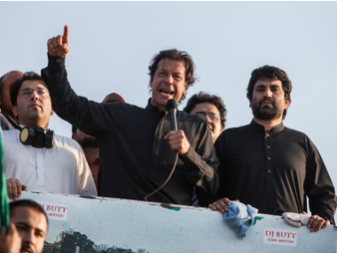 A file image of Imran Khan. Reuters