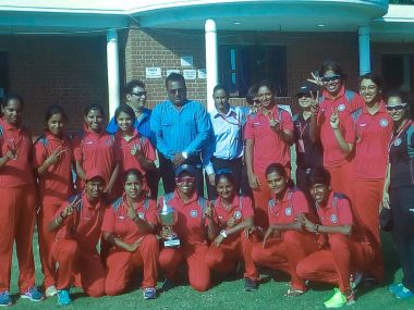 India Red women BCCI