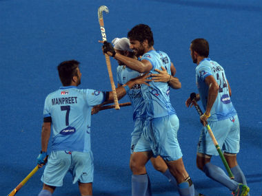 File photo of Indian hockey team. AFP
