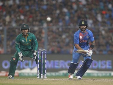 India vs Pakistan in the 2016 World T20. Reuters
